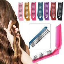 Women Travel Foldable Folding Hair Pocket Air Bag Comb Brush Styling Anti-stati
