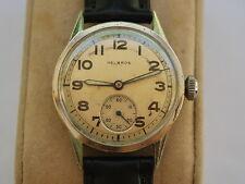 Nice Vintage Helbros 17J Manual Wind Men's Military Watch