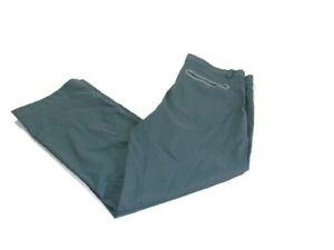 Nike Pants Gray Flat Front Dri-Fit Tour Performance Slim Fit Golf Woven Mens 36