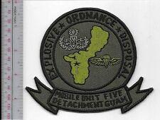 SCUBA Hard Hat Diving US Navy Mobile Diving Unit 5 EOD Naval Base Guam, USA acu