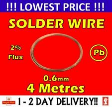 Solder Wire Premium Fluxed core Soldering 4M 0.6mm