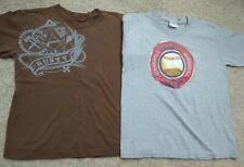 Lot (2) Rusty/Pro-Spirit T-Shirts-Baseball/Sports- Gray/Brown/Red-Like 10/12