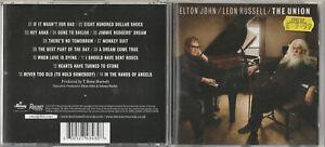 ELTON JOHN & LEON RUSSELL / THE UNION / 2010 CD ALBUM  (Mercury)