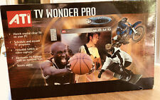 """ATI """"TV Wonder Pro"""" TV Tuner For Your PC (Circa 2003) NEW (old Stock) UNOPENED"""