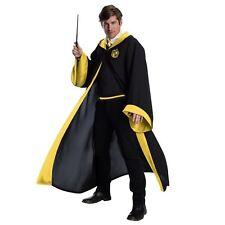 Adult Unisex Harry Potter Hogwarts Hufflepuff Student Costume Robe Uniform XS-XL