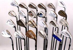 Lot of 24 Golf Club Wedges Nike Cleveland Wilson Titleist Wilson Cobra Mizuno RH