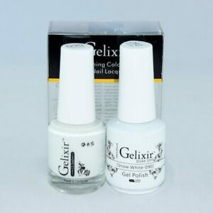 Gelixir Soak Off Gel Polish Matching Duo LED/UV 0.5 oz - Pick Any