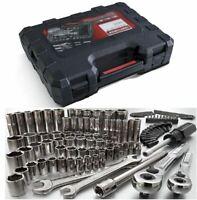 Craftsman 108 pc Tool Kit Mechanics Set Socket Ratchet Wrench Toolset w/ Case