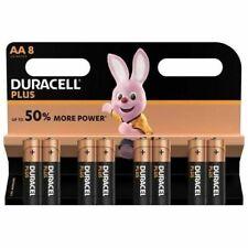 DURACELL Lot de 8 piles Plus Power AA
