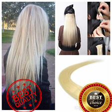 TAPE IN THICK Remy Human Hair Extension Real Seamless Skin Highlight Ombre 60PCS
