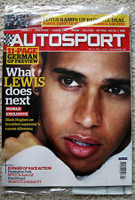 October Autosport Weekly Sports Magazines