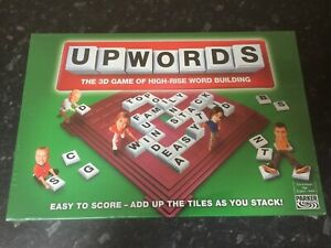 Parker UPWORDS Game - 3D Game Of High Rise Word Building - New & Sealed -