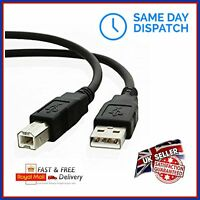 1.5m/3m USB 2.0 Cable Lead Connector to fit Focusrite Scarlett Audio Interface