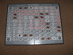 SEQUENCE game board ONLY card game - no dice, no cards, just board!  15x20