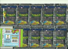 2014 PANINI Brazil World Cup Stickers - 10 SEALED Packets Green Variant