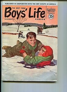 BOY'S LIFE - THE BEST FROM 2 FN+ BOY SCOUTS COMICS AND FEATURES 1958