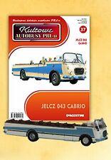 IXO 1:72 Jelcz 043 Cabrio POLISH BUS + Magazin - LIMITED EDITION - NEW