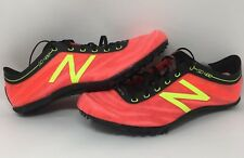 New Balance Men's SD400v3 Spike Shoes Red/Yellow SIZE 8 D