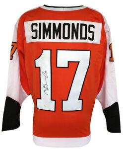 Wayne Simmonds Signed Philadelphia Flyers Jersey (JSA) NHL Career 2008–present