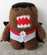 Domo Plush Vampire Costume Limited Edition Halloween Dracula Stuffed Kun Toy