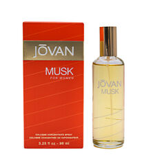 Jovan Musk by Jovan 3.25 Cologne Spray for Women New In Box