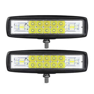 "6"" LED Work Light Bar 20W Flood Spot Combo Fog Lamp Pods Offroad Driving SUV ATV"