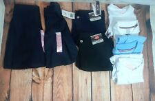 School Uniform Bundle Girls Size 12/14 14/16 shorts, skirts, shirts