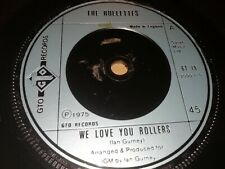 """THE ROLLETTES * WE LOVE YOU ROLLERS * 7"""" SINGLE EXCELLENT 1975 GTO RECORDS"""