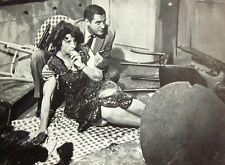 PETER GUNN clipping Craig Stevens & Hope Emerson B&W photo 1950s private eye TV
