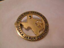 CR24) 2002 Texas Pin Trader Osaka Japan Lions Club Pin