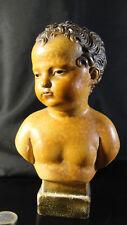 ancienne tirelire à casser XIXéme buste enfant vernissé Napoléon 1er enfant ???