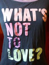 Aéropostale Juniors Ladies Tee T-Shirt 'WHAT'S NOT TO LOVE?' Original Brand S/P