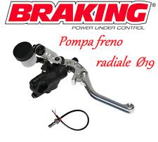 BRAKING KIT POMPA FRENO RADIALE RS-B1 19mm Honda CBR 600 F Sport