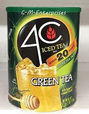 4C Green Tea Iced Tea Mix with Honey & Lemon Flavor 50.2 oz