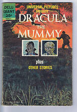 Universal Pictures Presents Dracula,the Mummy Dell Giant 1963