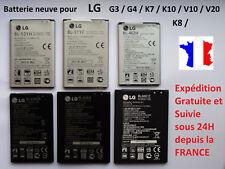 batterie interne neuve pour LG G3 / G4 / K7 / K8 / K10 / V10 / V20