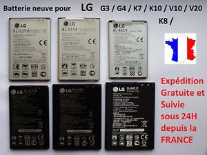 New Internal Battery For LG G3/G4/K7/K8 /K10/V10/V20