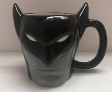 Batman DC Comics 3D Sculpted Coffee Mug Cup By Culture Fly Gray & Black