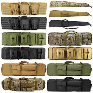 "Tactical Rifle Bag Gun Padded Soft Case Hunting Storage Backpack 37"" 39"" 47"" 52"""