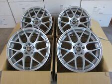 RH NBU Race silber 4 Felgen 8,5x19 Zoll 5x120 ET35 BMW 3er / 5er / Z4