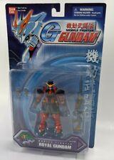 2002 Bandai G-GUNDAM MOBILE FIGHTER ROYAL GUNDAM ACTION FIGURE