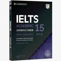 Cambridge Book IELTS 15 Academic New Published + Answers