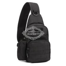 Men Backpack Tactical Sling Chest Bag Assault Pack Messenger Shoulder Waterproof