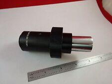 MICROSCOPE PART LEICA GERMANY CAMERA ADAPTER OPTICS AS IS BN#K9-B-08