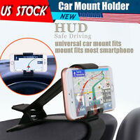 Car Dashboard Mount Holder Stand Cradle Clip Universal Clamp For Cell Phone GPS