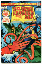 Marvel Classics Comics 4 20,000 Leagues Under The Sea VFNM 9.0 Marvel 1976 Verne