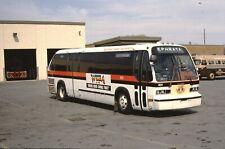 Red Rose Transit GM RTS bus original slide