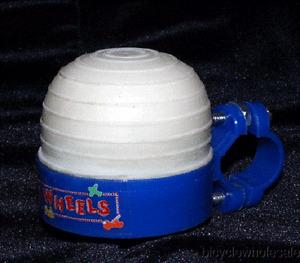 FUN WHEELS Trike Horn Blue & White NEW!