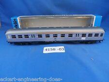 EE 4158 LN Marklin HO Silver Commuter Passenger Car Lot 4158-03 LikeNew OBX