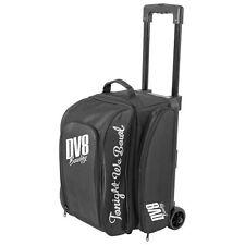 DV8 Freestyle 2 Ball Roller Bowling Bag with Wheels Black 5 Year Warranty